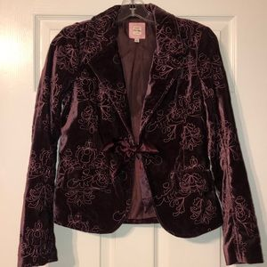 Absolutely gorgeous Old Navy velvet blazer!